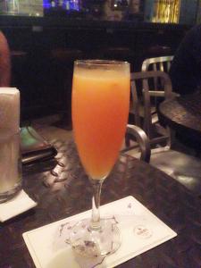 coctel mimosa de mandarina demente